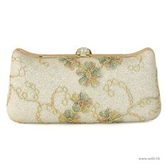 wedding pictures Satin embellished Convertible Small Clutches $51.99
