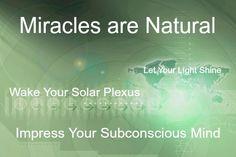 Miracles are natural