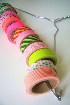 Jilliene Designing: DIY Washi Tape Dispenser