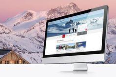 Saint-Martin Tourisme Saint Martin, Lausanne, Web Design, Advertising Agency, Brand Identity, Tourism, Design Web, Website Designs, Site Design