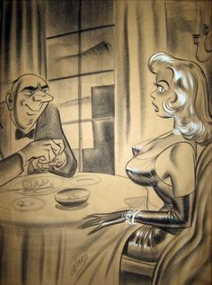 Bill Ward - Still Hungry Comic Art