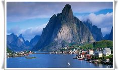 A VILLAGE IN NORWAY
