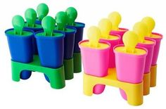 CHOSIGT Ice Lolly Maker Assorted Colours