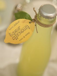 So excited these are selling! Perfect for your homemade limoncello! Lemon Favor Tag Set of 10 by simplydianedesigns, $15.00