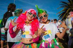 Port Elizabeth, prepare yourself for a colour explosion! Port Elizabeth, Health Articles, Colour, Running, Healthy, Fit, Blog, Color, Shape