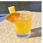 Tropical Breeze This drink will satisfy your sweet tooth, without undoing your day.  1.5 oz Malibu Island Spiced Rum 1 oz Orange-flavored Vita Coco Coconut Water 1 oz pineapple juice 1 tsp sugar-free orange marmalade  Shake all ingredients together in a shaker and strain over ice in a lowball glass. Garnish with a stick of pineapple and orange slice.