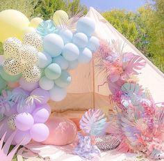 Balloon Decorations Party, Balloon Ideas, Balloon Arch, Teepee Party, Birthday Parties, Happy Birthday, Safari Party, Safari Chic, Wedding Signage