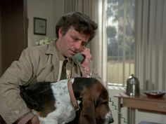 Then relax and enjoy the back story and image gallery of one of TV's most enduring and heart-warming relationships: that of Columbo and Dog. 70s Tv Shows, Old Shows, Kung Fu, Columbo Peter Falk, Mystery Show, Tv Detectives, Homicide Detective, Dog Died, Miss Marple