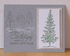 Lovely-As-A-Tree Christmas Card - Stampin' Up! by lorie