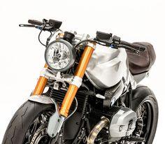 Deze bijzonder coole Nederlandse custom bike is opgedragen aan opa Nol