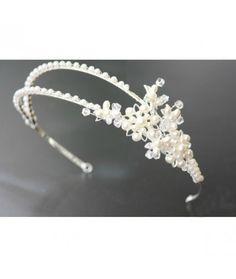 TIARA EXQUISITE PEARLS Pret:140 lei #tiara #accesoriimireasa