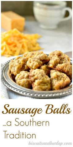 Often made at Christmas, but Sausage Balls are a tasty treat anytime.