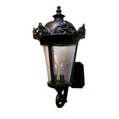 """Parisian PE3900 Series 32"""" Wall Lantern Finish: Architectural Bronze by Melissa Lighting. $591.99. PE399073-AB Finish: Architectural Bronze Features: -Wall lantern.-Seedy glass panel.-Electronic ballast EBPL:13-26-32-42(four pin).-UL listed. Options: -Available in Black, White, Old Iron, Architectural Bronze, Rusty Nail, Old Bronze, Old World, Aged Silver, Patina Bronze and Old Copper finishes. Construction: -Cast aluminum construction. Specifications: -Accommodat..."""