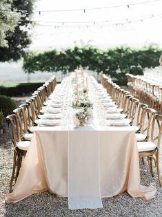Planner: http://weddingsintuscany.info | Photography: http://www.etherandsmith.com | Florist: http://www.jardindivers.it | Wedding dress: http://www.yolancris.com | Read More: https://www.stylemepretty.com/vault/image/6695758