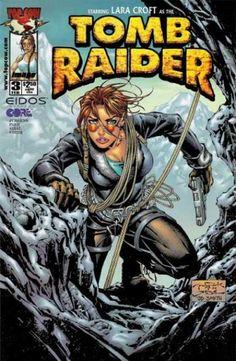 Tomb Raider Comic Book Cover Tomb Raider 3