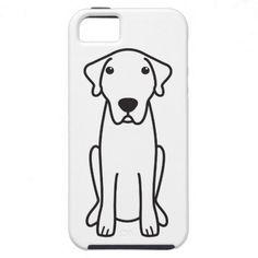 Anatolian Shepherd Dog Cartoon iPhone 5 Case