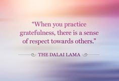 Reason #3- To Be Grateful Today