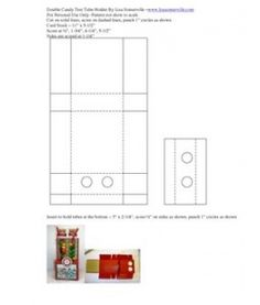 Microsoft Word - Double Candy Test Tube Holder By Lisa Somerville