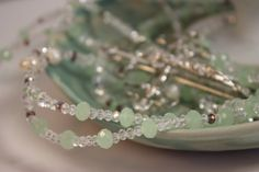 Hey, I found this really awesome Etsy listing at https://www.etsy.com/listing/195398593/wedding-lasso-crafted-with-green-jade