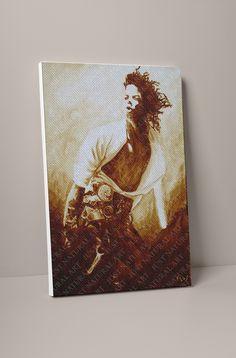 Large Canvas Prints, D1, Michael Jackson, Don't Care, Store, Natural, Artist, Painting, Larger