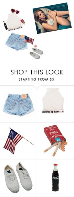 """all american"" by mauzabel ❤ liked on Polyvore featuring Bensimon and Moschino"