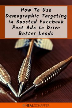 Boosted Facebook Post Ads ... Have you always dismissed them as ineffective? With the new Facebook algorithm, boosted posts are a lot more relevant and attractive. Learn how to use Facebook's amazing demographic targeting to make these ads effective and efficient.