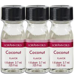Coconut Flavoring Oil – Layer Cake Shop