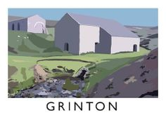 Grinton Art Print (A3) by Chequered Chicken, http://www.amazon.co.uk/dp/B00GMH15N6/ref=cm_sw_r_pi_dp_TXGytb0W0DY6Y