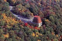 Pagoda Reading Pennsylvania History | Berks County, Pa / The Pagoda, located atop Mt. Penn is an historical ...