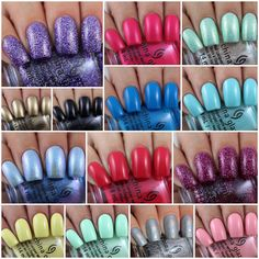 China Glaze My Little Pony Collection - Swatches & Review by Olivia Jade Nails