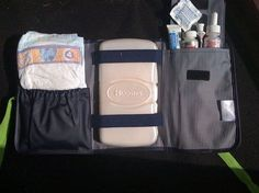 The new fold and go organizer has a clear zipper pocket but i love this idea!! thirty one bags uses | Thirty-One Love Www.mythirtyone.com/353029
