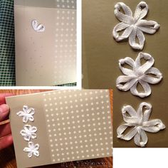 Embroidered Wedding card