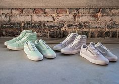 Vans Exclusive Women's Pastel Leather Pack - nitrolicious.com