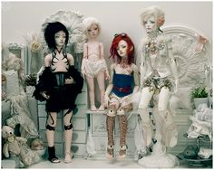 My BJD collection - 2013 shot, from Bluoxyde