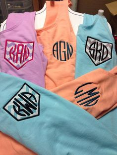 Hey, I found this really awesome Etsy listing at https://www.etsy.com/listing/180909313/monogrammed-tank-top