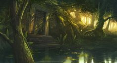 hidden temple by ~freelancerart on deviantART