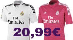 Real Madrid 1ª y 2ª Equipación POR TAN SOLO 20,99€ GASTOS DE ENVIO GRATIS!! Visita nuestra tienda Online y solicita información o realiza tu pedido: Tienda Online: http://lamanodediosstore.blogspot.com/  Tienda Online de Facebook: https://www.facebook.com/lamanodediosstore/app_251458316228