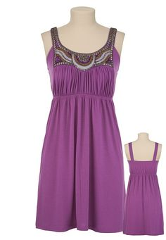 Cute sundress. Fancy enough for a wedding but still comfortable enough to wear all day.