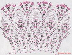 Crochet Lace Collar Pattern   Beauty pattern for crochet skirts and collars
