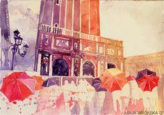 summer drizzle in Venezia by *takmaj on deviantART