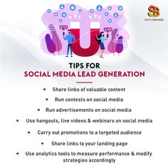 Social media presents you with a wonderful opportunity to generate leads #socialmedialeadgeneration Web Design Services, Advertising Agency, Business Goals, Together We Can, Lead Generation, Opportunity, Digital Marketing, Presents, Social Media