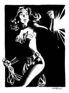 Wonder Woman By Chris Samnee