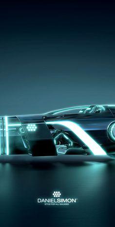 Wallpaper Tron Legacy Light Runner Design