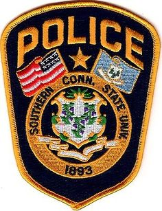 Southern Connecticut State University Police Patch