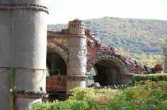 Bannerman's Castle -- Pollepel Island, Beacon, New York State  	  	Unfortunately, it was all downhill from there. Bannerman died in 1918, and in 1920 two hundred tons of powder and shells exploded, severely damaging the stores and buildings. In 1950 a storm sunk the ferry boat that supplied Pollepel Island, and the place was fully abandoned. Over the years, fire and structural issues have taken their toll and in 2009 large chunks of the exterior walls collapsed.
