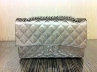 Chanel patent striated jumbo bag - fall 2012