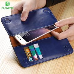 FLOVEME 5.5 inch Wallet Mobile Phone Case For iPhone 6 6S Plus 7 Case Leather Bag For iPhone 8 5S 5 SE Mobile Phone Accessories