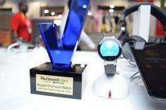 Para ALCATEL ONETOUCH fue un excelente CES. Aquí uno de los premios que ganamos durante los días del evento.