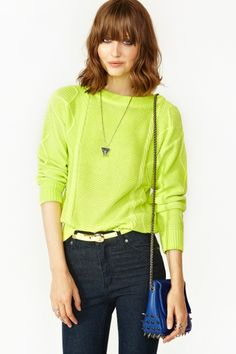 Highlighter Knit