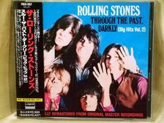 CD/Japan- ROLLING STONES,THE Through The Past -Hits Vol.2 w/OBI RARE POCD-1057